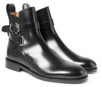 Julian Polished-leather Jodhpur Boots