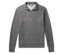 Milner Recycled Cotton-Blend Jersey Half-Zip Sweatshirt