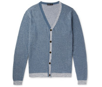 Cotton And Cashmere-blend Cardigan