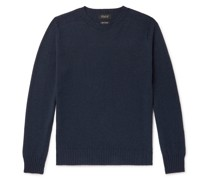 Wool and Cotton-Blend Sweater