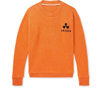 Total Meltdown Intarsia Cashmere Sweater