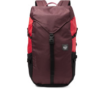 Barlow Large Nailhead Dobby-Nylon Backpack