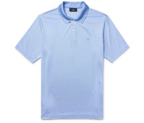 Mulberry Silk And Cotton-blend Polo Shirt