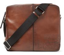 Monolithe Mm Polished-leather Messenger Bag