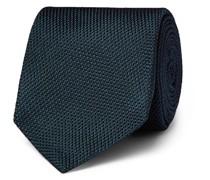 + Drake's 8cm Silk-Grenadine Tie