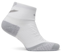 Elite Cushion Quarter Dri-fit Running Socks