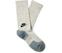 Mélange Cotton Socks