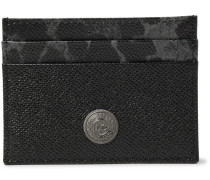 Printed Cross-grain Leather Cardholder