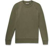 Loopback Cotton-blend Jersey Sweatshirt