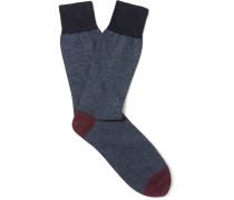 + Corgi Striped Cotton-blend Socks