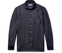 Slub Linen And Cotton-blend Chambray Shirt