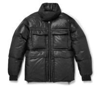 Minus Quilted Shell Hooded Down Jacket
