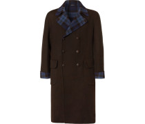 Double-breasted Double-faced Cashmere Overcoat