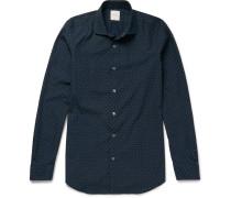 Soho Slim-fit Printed Cotton Shirt