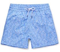 Azulejos Short-length Printed Swim Shorts