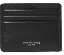 Owen Grained-leather Cardholder