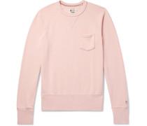 Slim-fit Loopback Cotton-jersey Sweatshirt