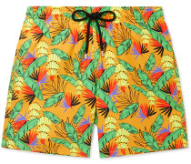 Moorea Mid-Length Printed Swim Shorts