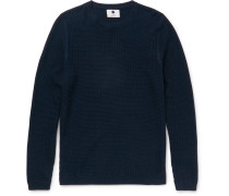 Lars Basketweave Cotton Sweater