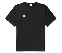 Logo-Appliquéd Cotton-Blend Jersey T-Shirt