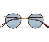 Wilson Round-frame Tortoiseshell Acetate Sunglasses