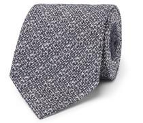 8cm Manhattan Woven Silk-blend Tie
