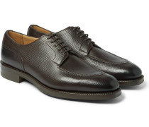 Dover Cross-grain Leather Derby Shoes