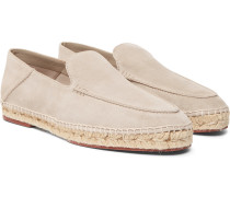 Seaside Walk Suede Espadrilles