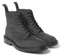 Stow Nubuck Brogue Boots