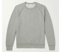 Heather Fleece-Back Supima Cotton-Jersey Sweatshirt