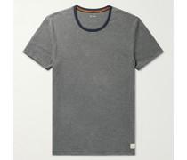 Slim-Fit Striped Organic Cotton T-Shirt