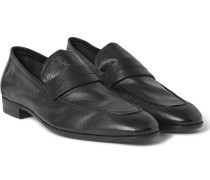 Lorenzo Leather Penny Loafers