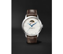 Classima Automatic Open Balance 42mm Stainless Steel and Alligator Watch, Ref. No. MOA10524