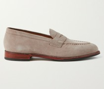 Lloyd Suede Penny Loafers