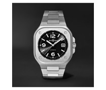 BR 05 Black Steel Automatic 40mm Stainless Steel Watch, Ref. No. BR05A-BL-ST/SST