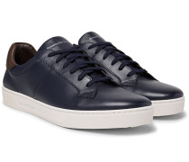 Vittorio Vulcanised-leather Sneakers
