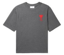 Logo-Appliquéd Cotton-Jersey T-Shirt