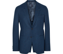 Blue Butterfly Slim-fit Wool And Cashmere-blend Blazer