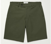 Cotton and Cashmere-Blend Shorts
