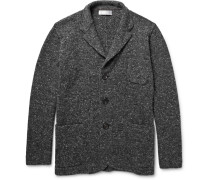 Mélange Virgin Wool-blend Cardigan