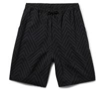 Miles Long-length Printed Shorts