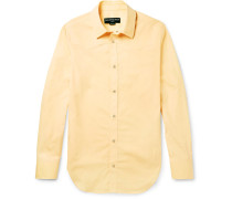 Slim-fit Cotton-poplin Western Shirt