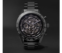 Carrera Automatic Chronograph 45mm Ceramic Watch