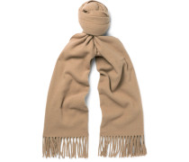 Canada Narrow Virgin Wool Scarf