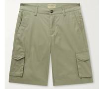 Cotton-Ventile Cargo Shorts