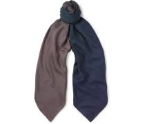 Dégradé Cashmere And Silk-blend Scarf