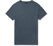 Koree Slim-fit Mélange Slub Cotton-jersey T-shirt