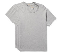 Three-pack Cotton-jersey T-shirts