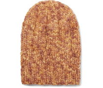 Ribbed Mélange Wool Beanie
