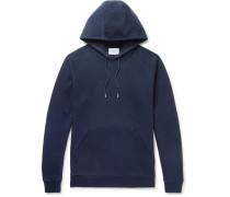 Ketel Mercerised Cotton-blend Jersey Hoodie